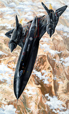 Spy Painting - Blackbird by Charles Taylor