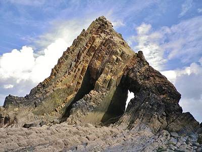 Photograph - Blackchurch Rock Mouthmill Beach North Devon by Richard Brookes