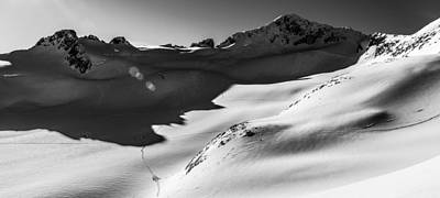 Whistler Photograph - Blackcomb Backcountry by Ian Stotesbury