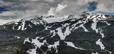 Photograph - Blackcomb Mountain by Pierre Leclerc Photography