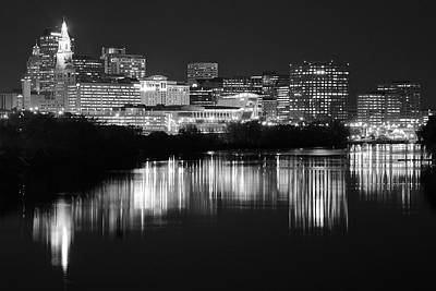 Photograph - Blackest Night In Hartford by Frozen in Time Fine Art Photography