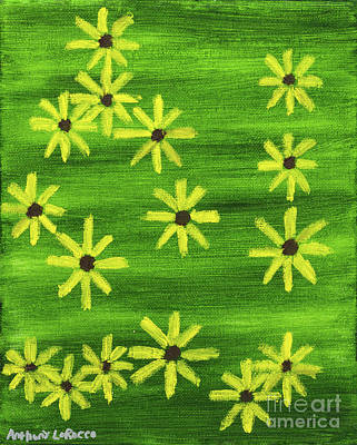 Painting - Blackeyed Susan by Anthony LaRocca