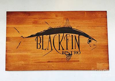 Photograph - Blackfin Bistro by Michael Krek