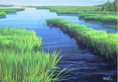 Painting - Blackfish Creek by Michael Cranford