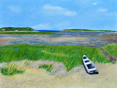 Cape Cod Painting - Blackfish Creek by Robin Manning