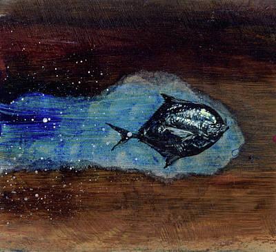 Mixed Media - Blackfish by Sam Arneson