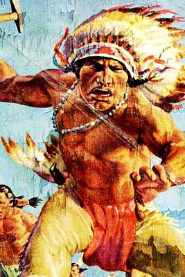 Blackfoot 7 Art Print