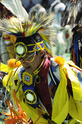 Photograph - Blackfoot Pow Wow by Keith Lovejoy