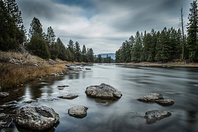 Blackfoot River Photograph - Blackfoot River by David Palmer