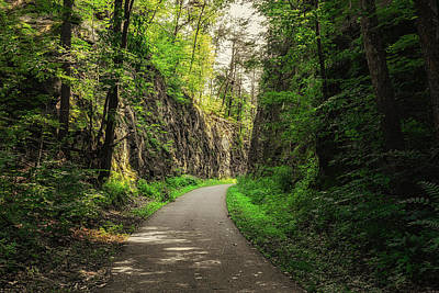 Blackhand Gorge Main Trail Art Print