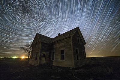 Rotation Photograph - Blackhole Sun by Aaron J Groen