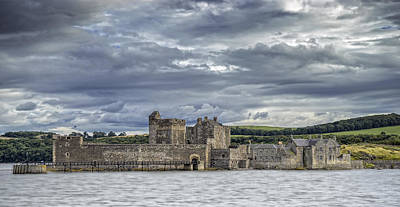 Photograph - Blackness Castle by Jeremy Lavender Photography