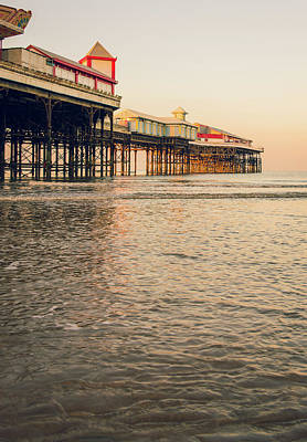 Piers Wall Art - Photograph - Blackpool Pier  by Mark Mc neill