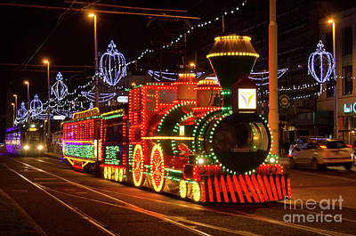 Photograph - Blackpool Tram by Steev Stamford