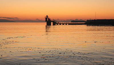 Photograph - Blackrock Sunset by Peter Skelton