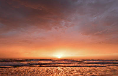 Photograph - Blacks Beach - September Sunset by Alexander Kunz