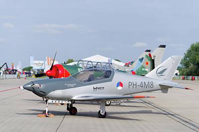 Photograph - Blackshape Prime Plane by Hans Engbers