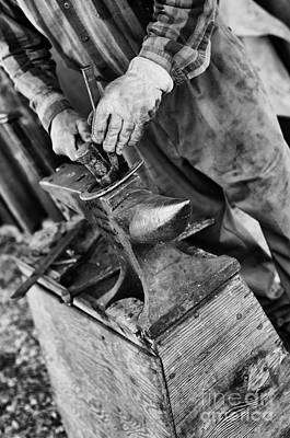 Photograph - Blacksmith And Anvil by Tamara Becker