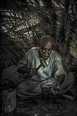 Keith Richards - Blacksmith at work by Zak Kz