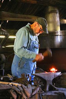 Photograph - Blacksmith by Kathryn Meyer