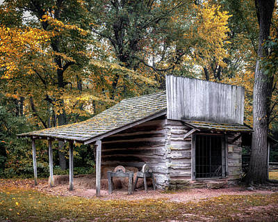 Photograph - Blacksmith Shop At Prairie Grove by James Barber