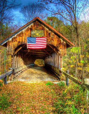 Photograph - Blacksmith Shop Bridge by Jeff Stallard