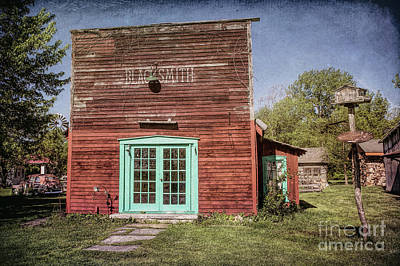 Photograph - Blacksmith Shop by Lynn Sprowl