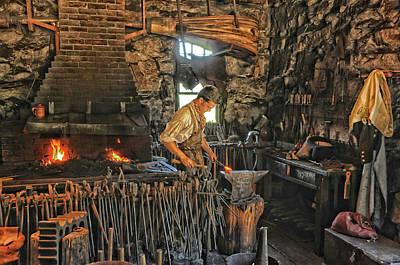Photograph - Blacksmith Shop by Mike Martin