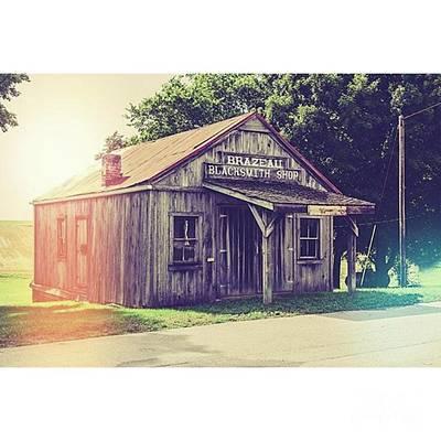 Fineartamerica Photograph - Blacksmith Shop Brazeau by Larry Braun