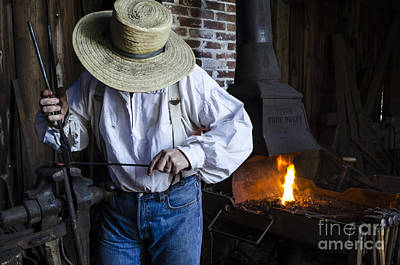Photograph - Blacksmithing by Andrea Silies
