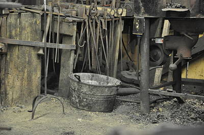 Photograph - Blacksmith's Bucket by Jan Amiss Photography