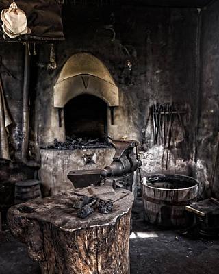 Photograph - Blacksmiths Shop by Alan Raasch