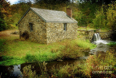 Photograph - Blacksmith's Shop I by Debra Fedchin