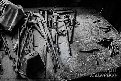 Photograph - Blacksmith's Tools 2 by Scott Parker
