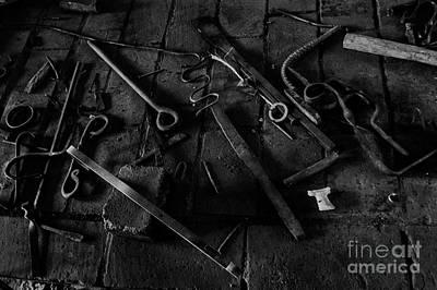 Photograph - Blacksmith's Tools by Scott Parker