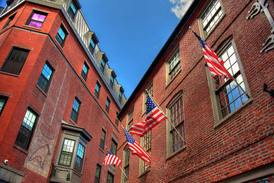 Photograph - Blackstone Block Historic District - Boston by Joann Vitali