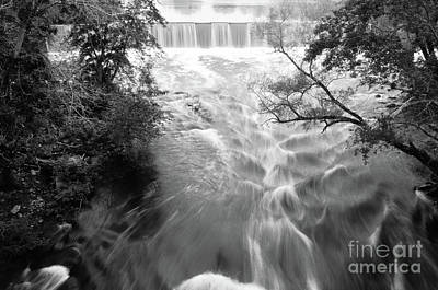 Blackstone River Dam At Manville Art Print by Jason Freedman