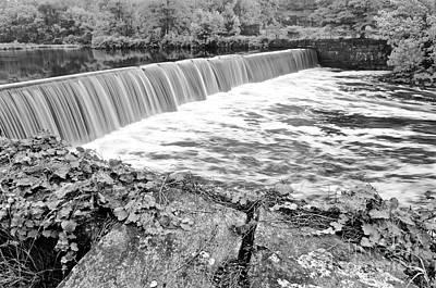 Blackstone River Dam Manville Rhode Island Art Print by Jason Freedman