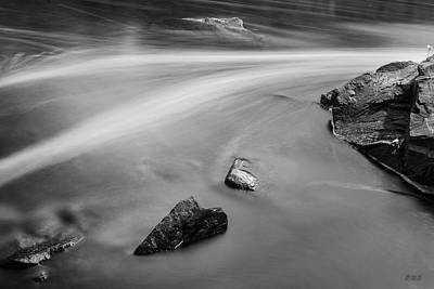 Photograph - Blackstone River II Albion Bw by David Gordon