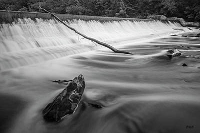 Photograph - Blackstone River IIi Albion Bw by David Gordon