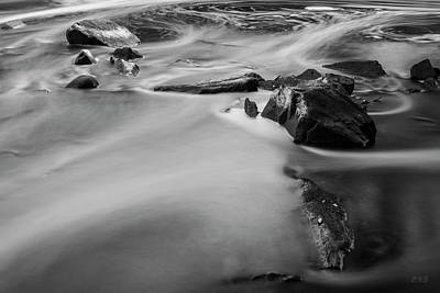 Photograph - Blackstone River Iv Albion Bw by David Gordon