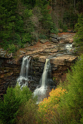 Photograph - Blackwater Falls by David Waldrop
