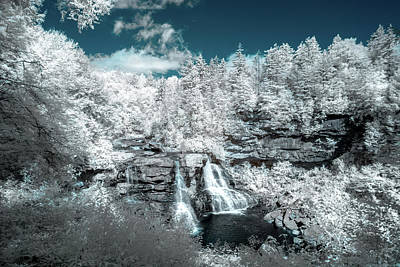 Photograph - Blackwater Falls In Ir by Guy Whiteley