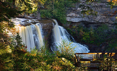 Photograph - Blackwater Falls by Jamie Pattison