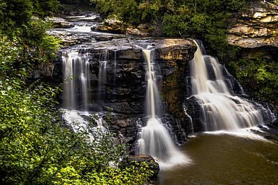 Photograph - Blackwater Falls by Jorge Perez - BlueBeardImagery