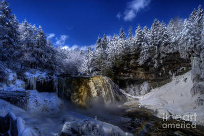 Photograph - Blackwater Falls Roaring by Dan Friend
