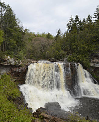 Photograph - Blackwater Falls - West Virginia by rd Erickson
