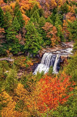 Blackwater Canyon Photograph - Blackwater Falls Wv by Steve Harrington