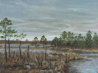 Blackwater National Wildlife Refuge Art Print by Edward Williams