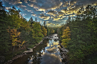 Blackwater River Art Print